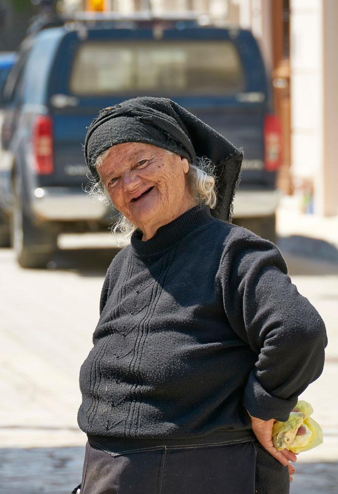 vidunderlige græske kvinde