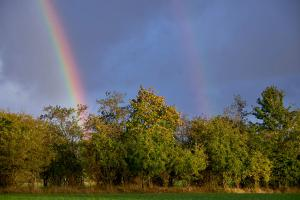 Dobbelt regnbue tæt på - FUJIFILM X-T1