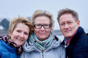 Lise, Tina og Gerhard
