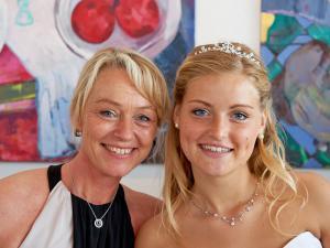 Mog og datter