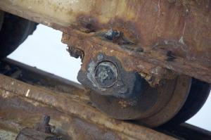 Rustent hjul