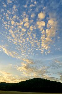 Aften himmel