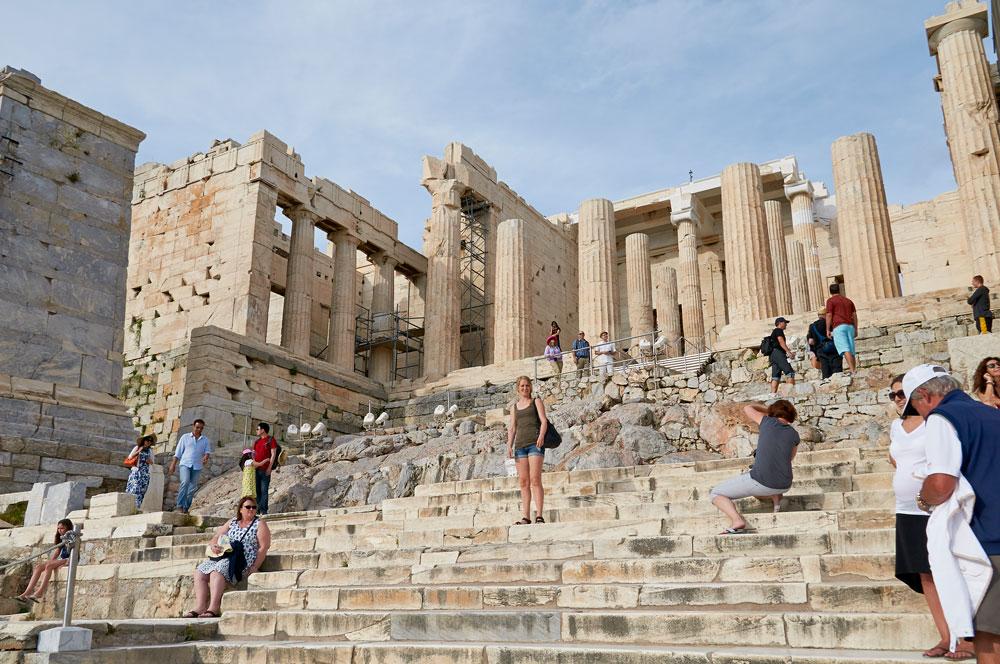 Første dag i Athen