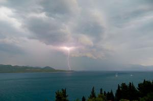 forrygende uvejr