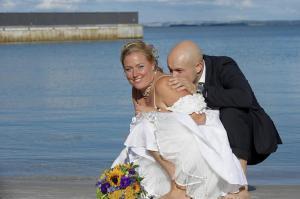 Par ved vandet