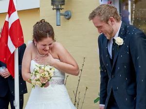 Ris på brudepar