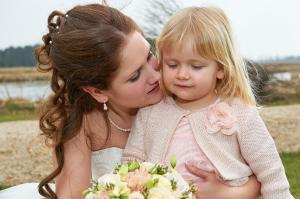 Brud med datter
