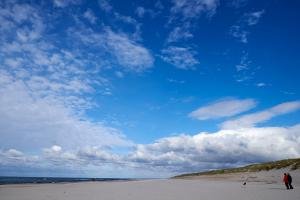 Prøve på farven på himlen ved Vesterhavet - FUJIFILM X-T1