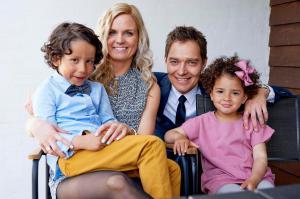 William, Linn, Claus og Isabella
